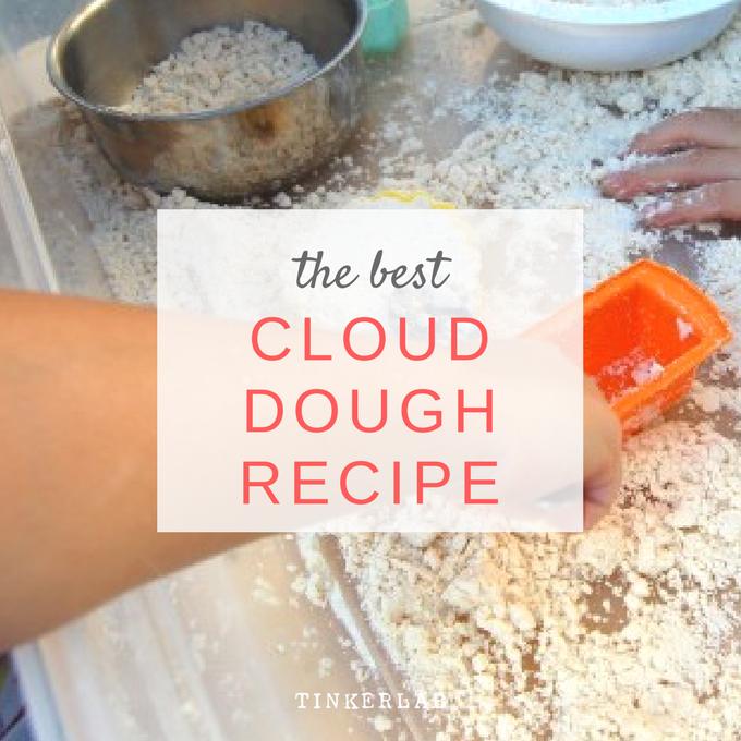 The best cloud dough recipe | Just 2 Ingredients!