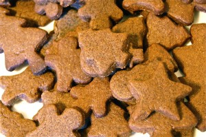 gingerbread cookies with kids