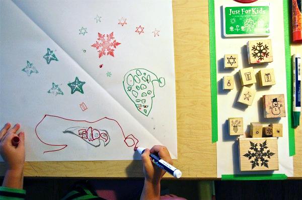 decorate paper stars