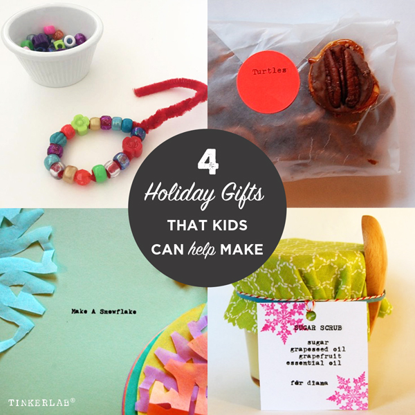 Handmade Christmas Gifts For Kids: Last Minute Easy Handmade Gifts To Make With Kids
