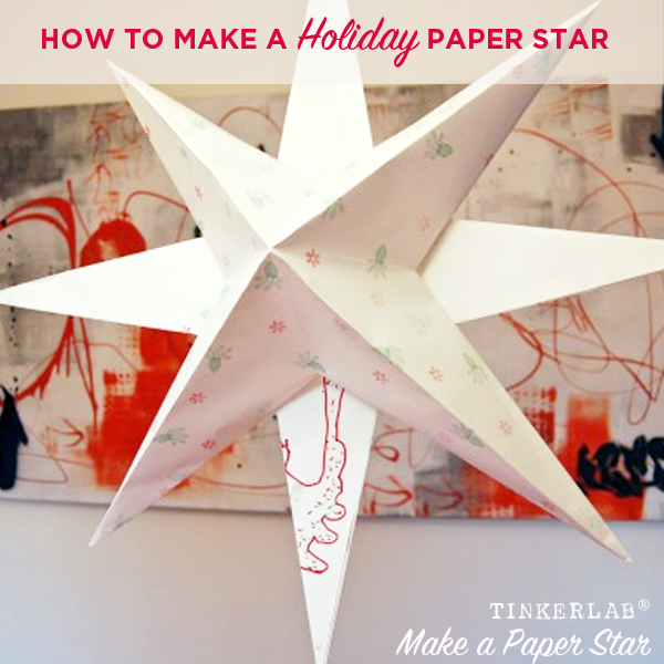 how to make a holiday paper star tinkerlab String Art Patterns for Triangles String Art Print Outs
