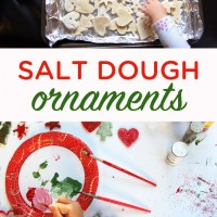 How to make salt dough ornaments with kids | TinkerLab