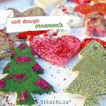 Salt Dough Christmas Ornaments and Decorations
