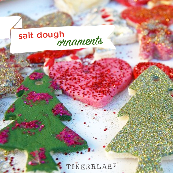 Salt Dough Christmas Ornaments and Decorations | TinkerLab
