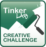 tinkerlab challenge button Word Collection Jars