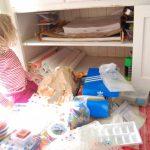 Organizing Art Supplies: Day One