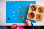 Toddler Art: Glue Dots and Buttons