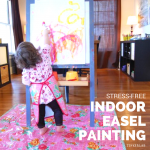 How to set up Stress-free Indoor Easel Painting