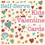Kids Valentine Ideas – How to Set up a Self-serve Card Station