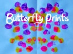 Symmetrical Butterfly Prints