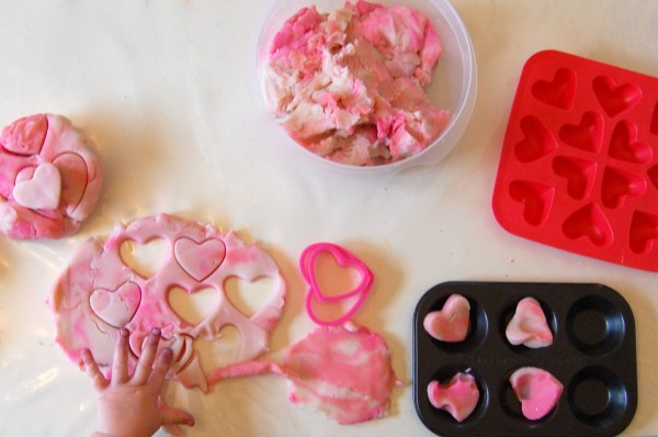 valentine play dough