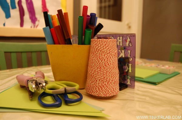 design table for the kids for blissdom