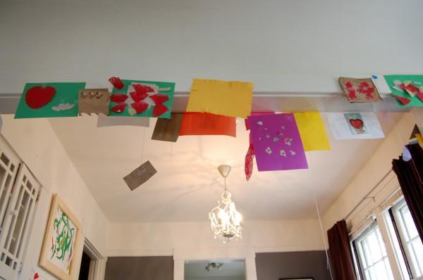 collage installation