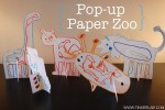 Pop up Paper Zoo {Free Download}