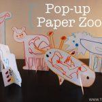 Pop up Paper Zoo {Free Download}