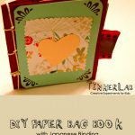 DIY Paper Bag Book with Japanese Binding {Free Download}