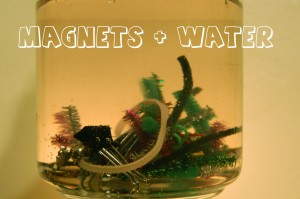 magnets and water