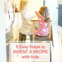 5 Easy Steps to Invent a Recipe with Kids
