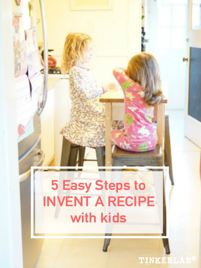 Cooking with Kids to Invent a Recipe