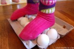 Walking on Raw Eggs. Really!
