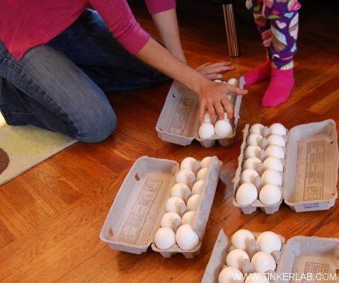 egg walking demo
