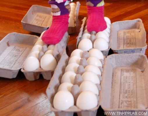 walking on raw eggs