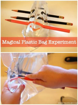 Plastic Bag Experiment with Polymers