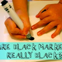 are black markers really black