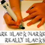 Are Black Markers Really Black? A Chromatography Lesson.