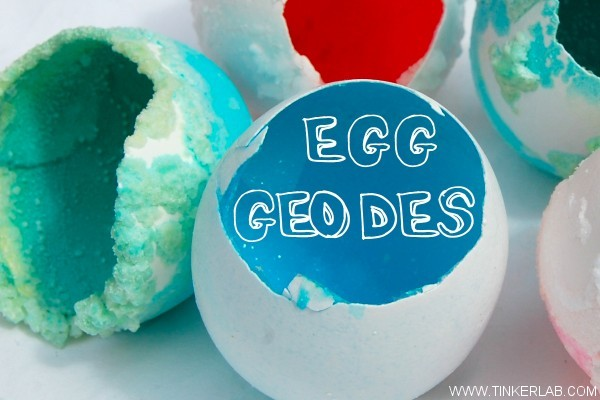How to make egg geodes.