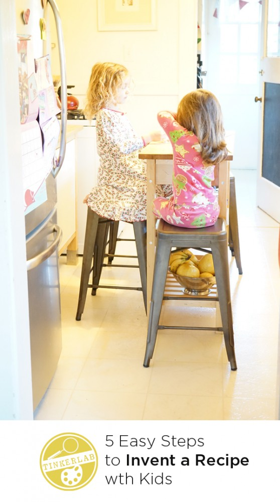 5 easy steps to invent a recipe with kids | TinkerLab