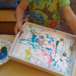 Kids Art Projects | Rolling Rock Painting