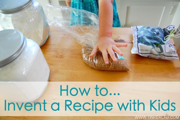 invent a recipe with kids
