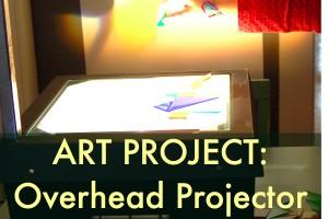 overhead projector art project