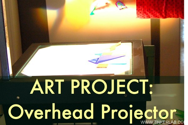overhead projector art project