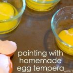Make Your Own Egg Tempera Paint