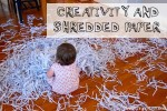 Sensory Activity: Shredded Paper