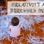 Sensory Activity: Shredded Paper