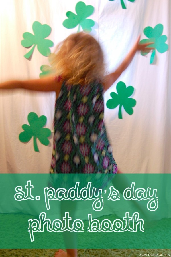 st paddys day photo booth