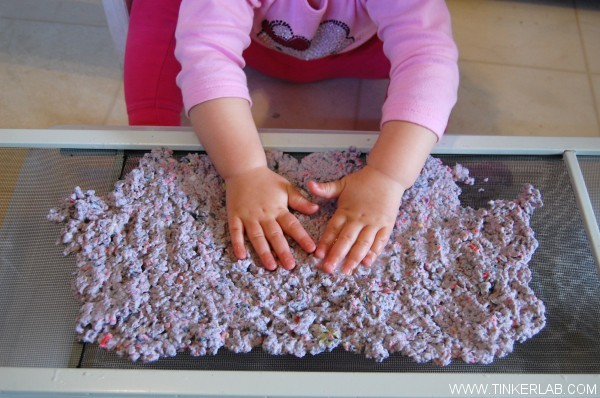 how to make paper with kids