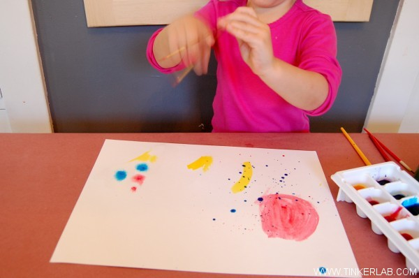 how to watercolor with kids