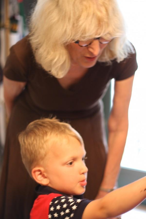 jessica hoffman davis and her grandson