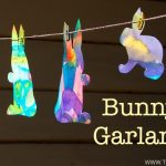Spring Art: How to Make a Bunny Garland