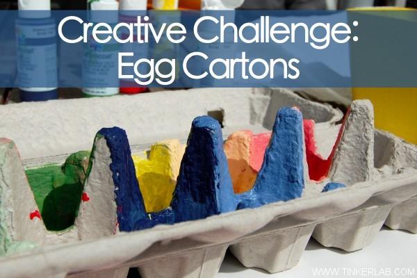 Creative Challenge Egg Carton Tinkerlab