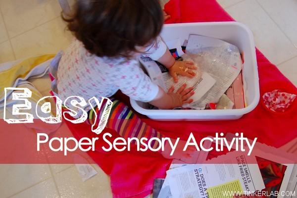paper sensory activity