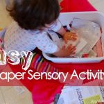 Sensory Activity: Wet Paper