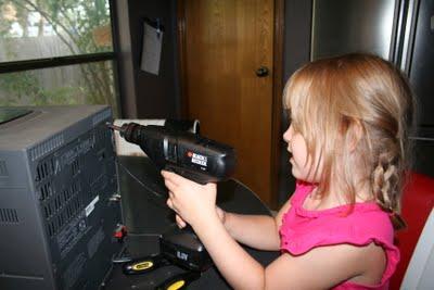 power drill tinker