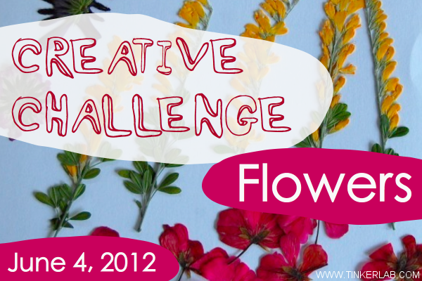 creative challenge flowers