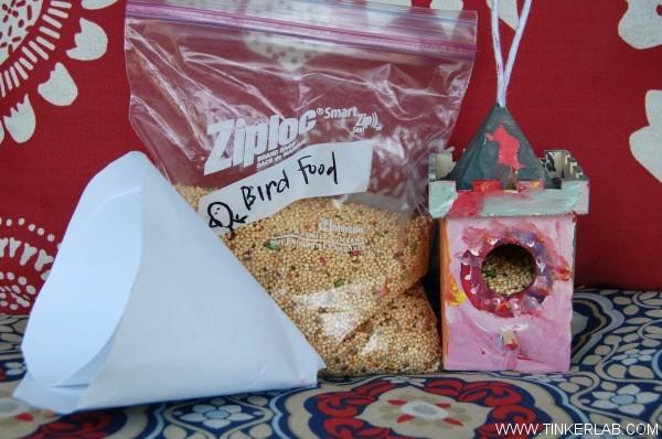 birdhouse materials