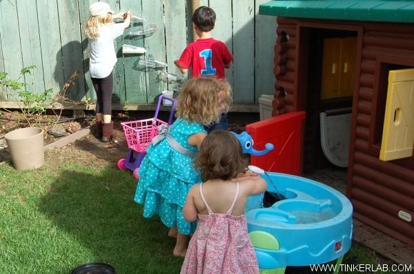 water wall play